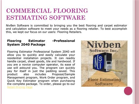 Floor Covering Estimating Software by Carpet Estimating Software Meze