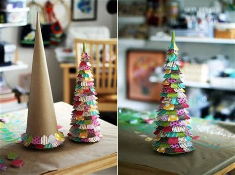 hand made christmas out of paper 16 easy and ideas for handmade trees