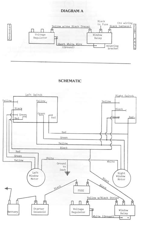 power window parts diagram electrical power window relay question