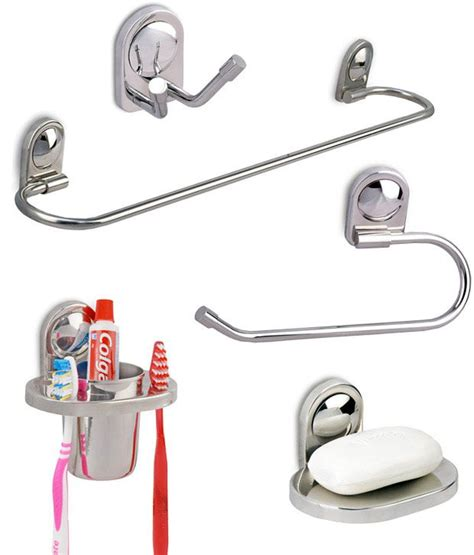 buy online bathroom accessories buy doyours 5 pieces bathroom accessories set stainless