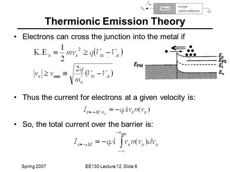 schottky diode thermionic emission schottky diode thermionic emission 28 images schematic diagram showing two step trap