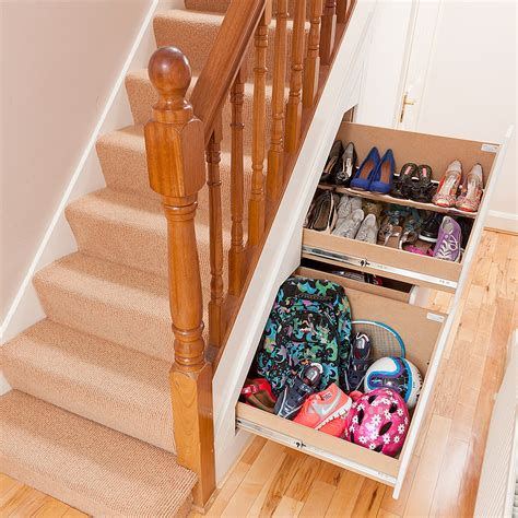 Stair Drawer System by Clever Closet 3 Drawer Understairs Storage Systems 42 Degrees