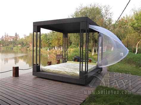 rattan pavillon popular outdoor canopy daybed buy cheap outdoor canopy