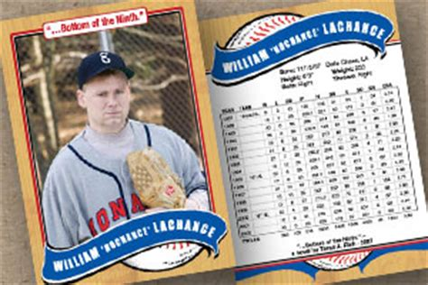 baseball card template front and back sports 171 custom trading cards