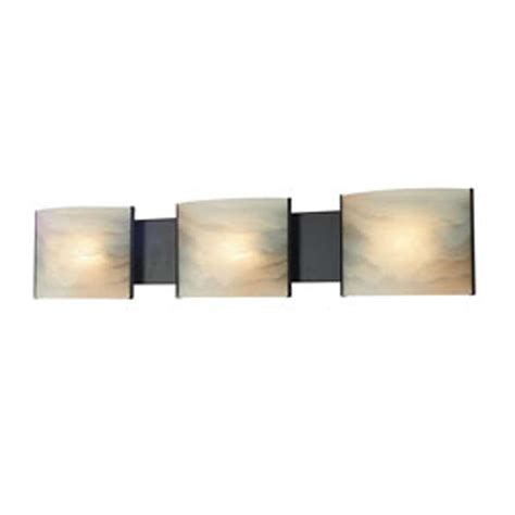 Filament Design Spectra 3 Light Oil Rubbed Bronze Bath Vanity Light Bathroom