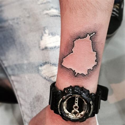 map tattoos tattoo designs tattoo pictures