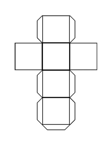 Cuboid Net Template Printable by Net Cube By Lornzxx Teaching Resources Tes
