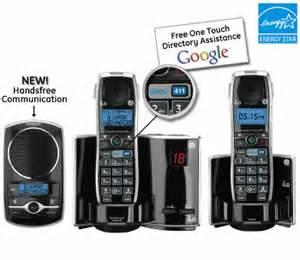 Ge 28821fj3 Dect 6 0 Premiere Goog 411 Phone User Manual