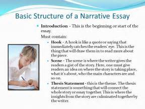 Elements Of Essay Organization by Elements Of A Narrative Essay Ppt