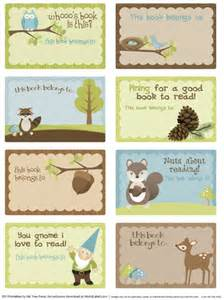 Book Labels Template by Bookplate Labels By Ink Tree Press Worldlabel