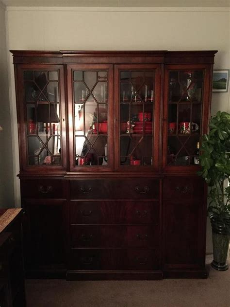 dining room table and china cabinet antique solid mahogony drop leaf dining room table buffet