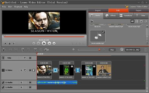 online program maker leawo video editor help create free online movies with