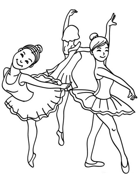 coloring designs dance costume coloring pages