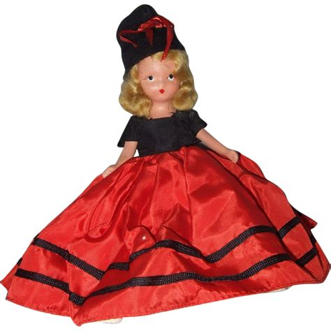 bisque doll painted painted bisque nancy storybook doll miss january 187