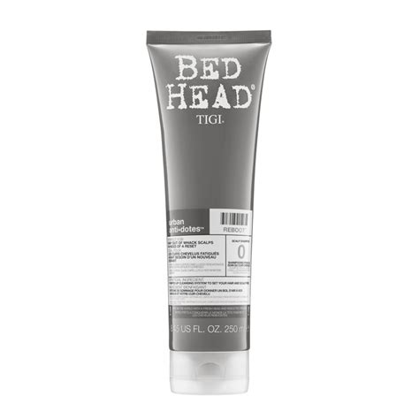 bed head urban antidotes tigi bed head urban antidotes reboot scalp shoo 250ml feelunique