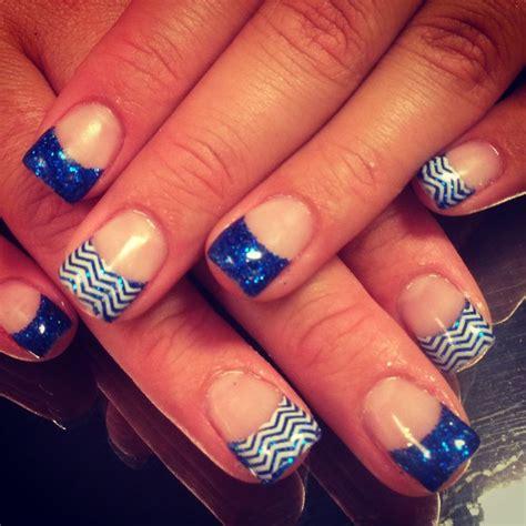 Royal Nails by Royal Blue Nails Chevron Nifty Nails