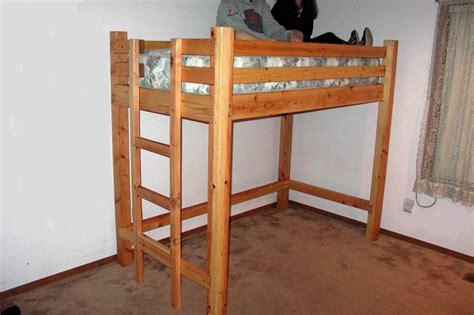woodwork loft bunk beds plans  plans