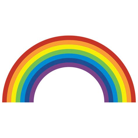 rainbow wall stickers uk rainbow wall sticker