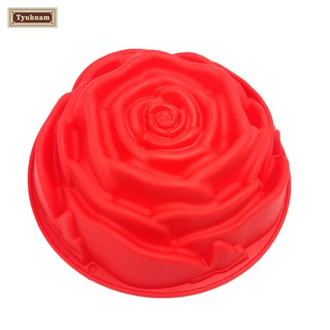Silicone Baking Mould Hirokuma 1 9 quot big silicone flower baking cake pan mold mould bakeware baking mold jelly cake