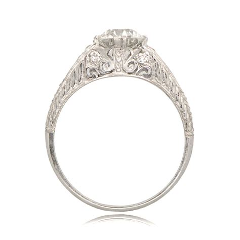wedding rings deco deco style engagement ring sv 11238