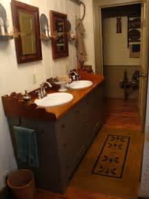 Primitive Bathroom Ideas by Olde Spoon River Homestead Primitive Bathroom