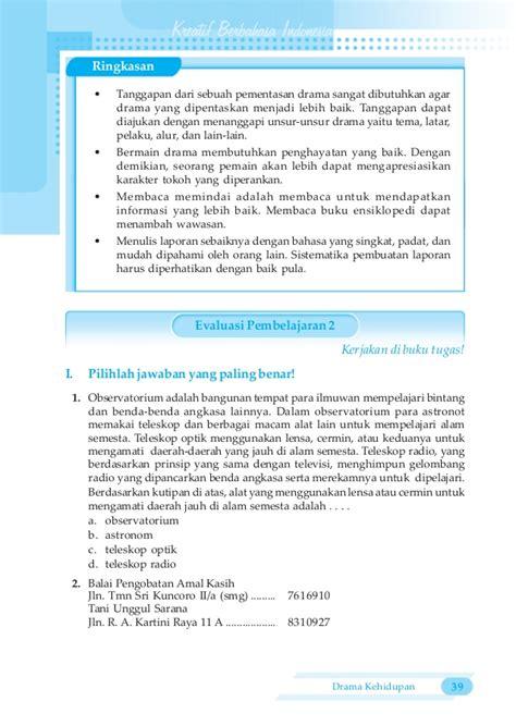membuat sinopsis novel indonesia bahasa indonesia untuk smp mts untuk kelas 7