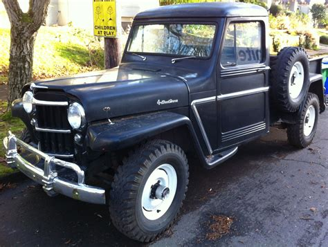 1961 Jeep Truck Willys On Trucks Jeeps And Jeep Willys