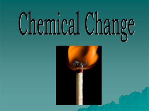 color change chemical reaction is color change a chemical change physical chemical