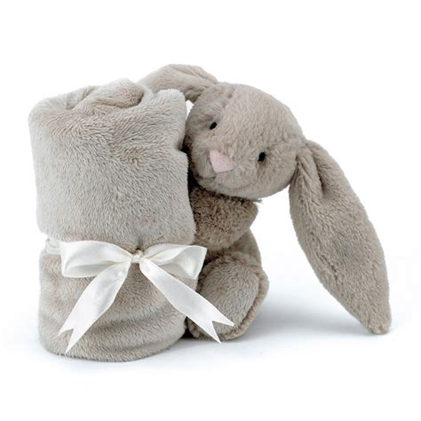 jellycat baby comforter jellycat beige bashful bunny soother temptation gifts