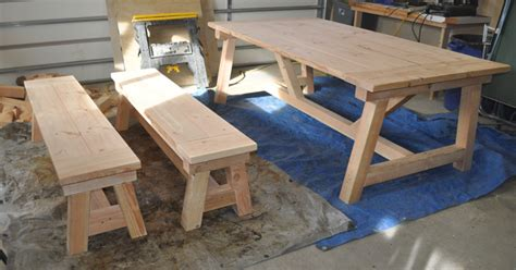 Oak Dining Room Table And Chairs by How To Build A Farmhouse Table