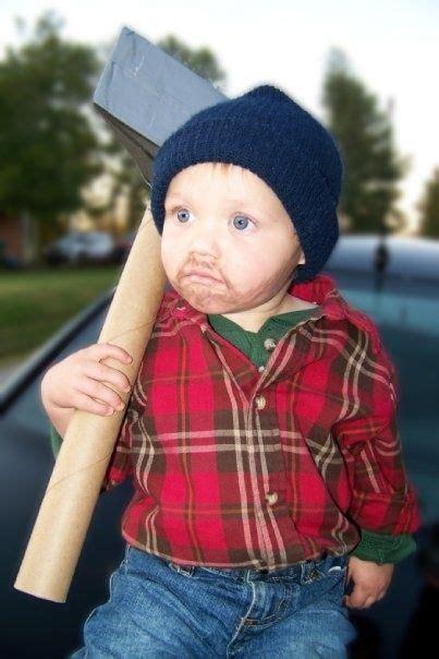 adorable baby wearing halloween costumes