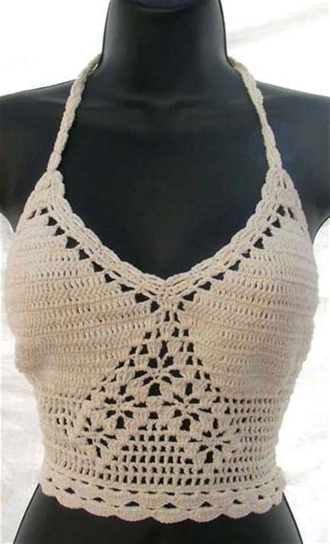 pattern for triangle bra wholesale fashion wholesale crocheted bra top sexy clothing