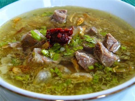 Coto Makassar Bumbu Dapur resep coto daging asli makasar enak praktis resep