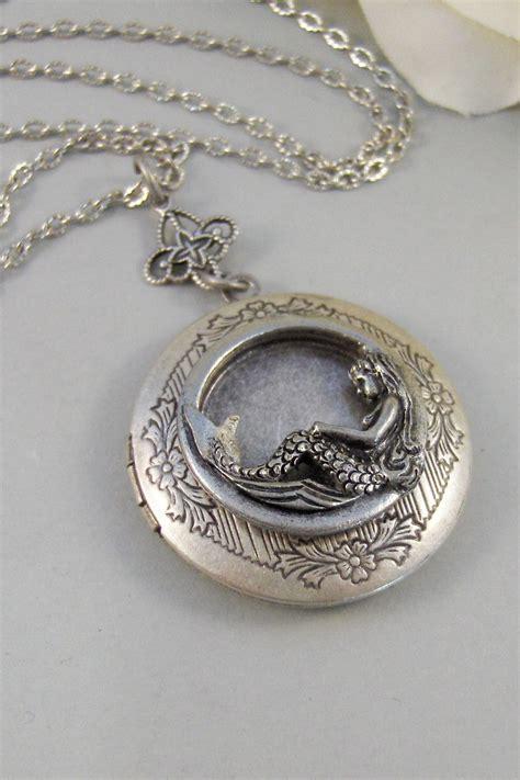 Handmade Locket - siren s calllocketmermaid mermaid by valleygirldesigns on etsy