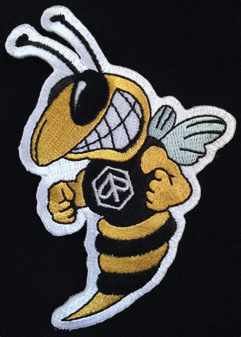 vespa wasp embroidered patch iron on scooter badge mods ebay