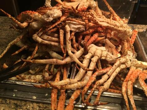 king crab piled high picture of the buffet at the