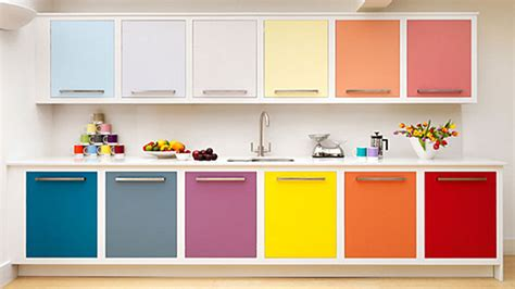 Colored Kitchen Cabinets by Home Sweet Home Homedesign121