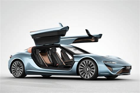 Winged Doors by Nanoflowcell Quant E Sportlimousine The Future Of
