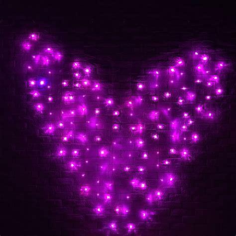 heart shaped christmas lights 128 led heart shape fairy string curtain light valentine s