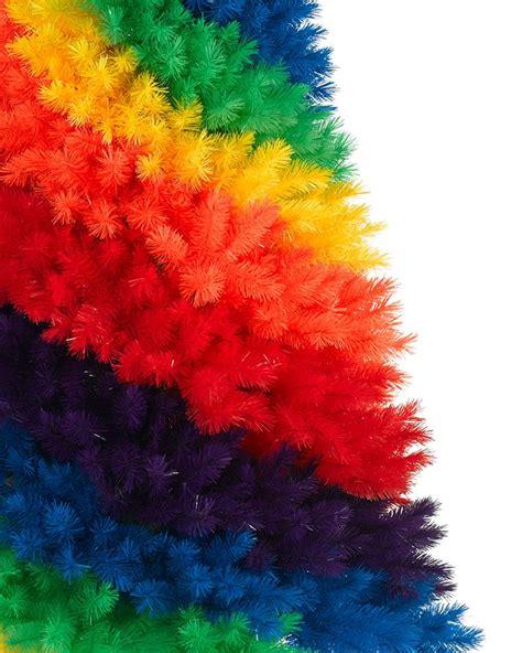 rainbow christmas tree treetopia