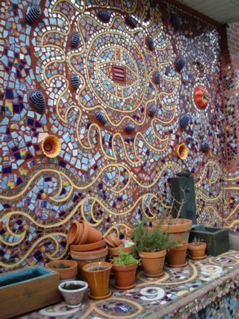 mosaik im garten mosaik basteln stein mosaik im garten garten
