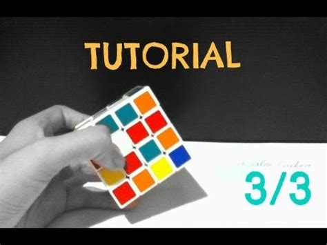 tutorial rubik 4x4 youtube como resolver el cubo de rubik 4x4 parte 3 3 youtube