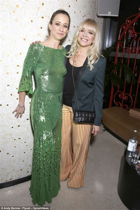 Oh So Pretty Of The Week Jo Wood Organics Amka Dew by Lowe Shows In An Emerald Skirt
