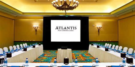 atlantis  palm dubai event spaces prestigious venues