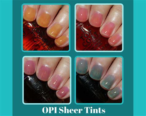 Opi Sheer Tints Nail