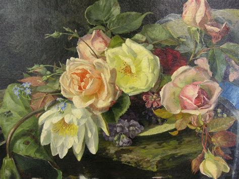 study  roses  german decorative painter clara