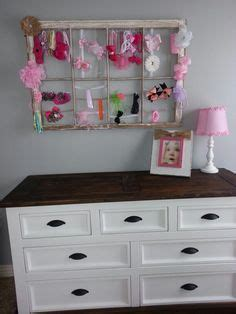 thrifty decorating old window hairbow holder it is better to give than to receive on pinterest diy
