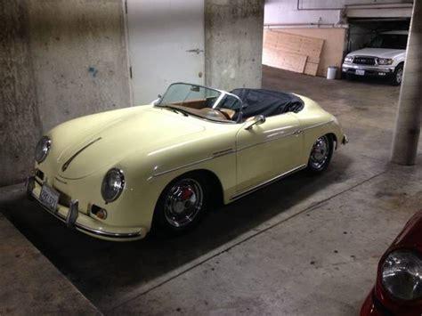 Porsche Speedster Replica Kaufen by 1957 Porsche Speedster Replica Buy Classic Volks