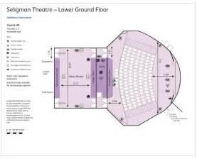 theatre floor plan seligman theatre rcp events