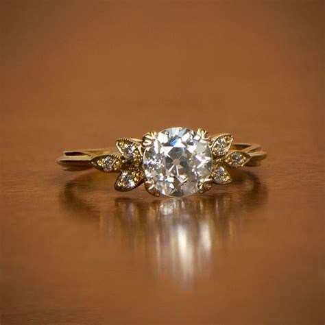 Vintage Gold Engagement Rings Www Imgkid The Image by Vintage Gold Engagement Rings Www Imgkid The Image